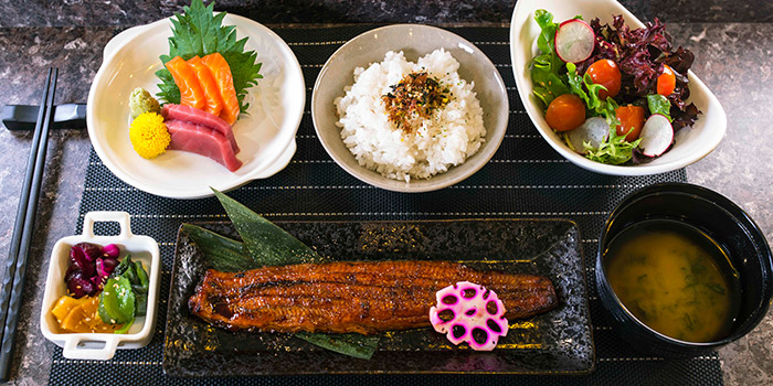 Unagi Lunch Set from TORIO Japanese Restaurant at Link Hotel in Tiong Bahru, Singapore