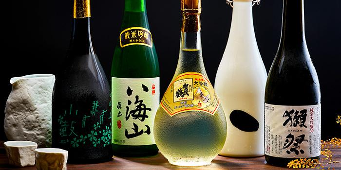 Sake Selection from Yujin Izakaya in River Valley, Singapore