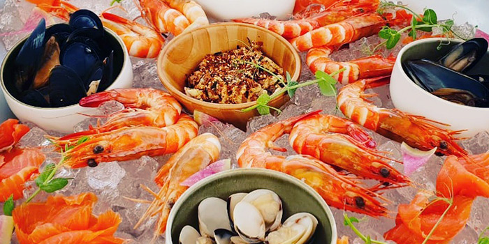 Seafood Plater from The Floating Donut Company in Marina Bay, Singapore