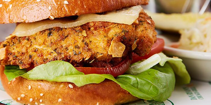 Sanwiches Chicken Brioche, Dan Ryan