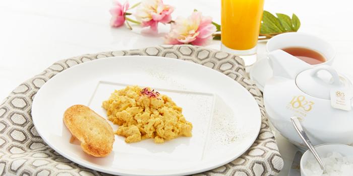 Scrambled Egg from 1823 Tea Lounge by Ronnefeldt at Gaysorn Plaza G/F, 999 Phloen Chit Rd Bangkok