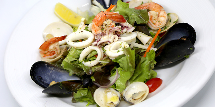 Seafood Salad from Sole Mio Pizzeria Italian Restaurant Wine Bar at Akkhara Phat Alley Khlong Tan Nuea, Khet Watthana Bangkok