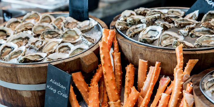 Seafood Station from Latest Recipe at Le Méridien Bangkok 40/5 Surawong Road, Bangrak Bangkok