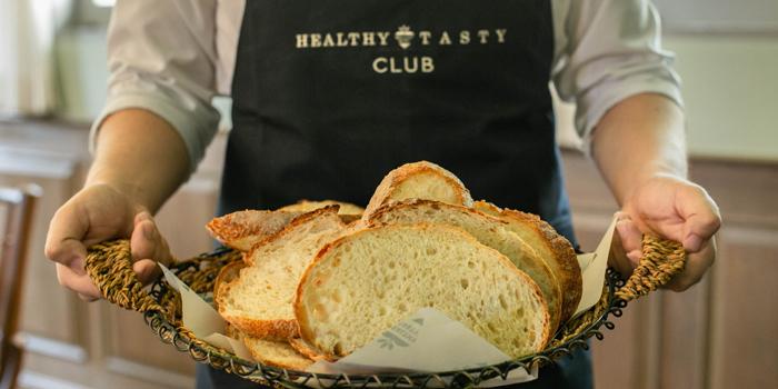 Selection of Bread from Healthy Tasty Club at 38 Soi Silom3(pipat) Silom, Bangrak Bangkok