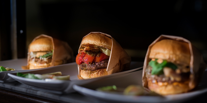 Selection of Burger from Pullman Bangkok Hotel G 188 Si Lom, Suriya Wong, Bang Rak Bangkok