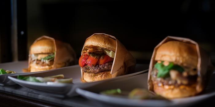 Selection of Burger from Pullman Bangkok Hotel G 188 Si Lom, Suriya Wong, Bang Rak Bangkok