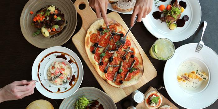 Selection of Food from Latest Recipe at Le Méridien Bangkok 40/5 Surawong Road, Bangrak Bangkok