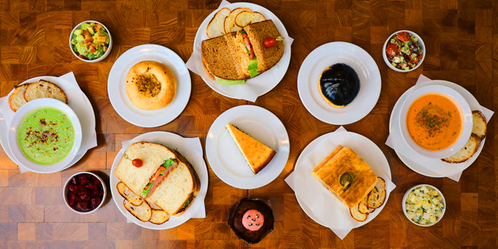 Selection of Food from Holey Bakery Suanplu at 39/17 Suan Phlu Khwaeng Thung Maha Mek, Sathon Bangkok