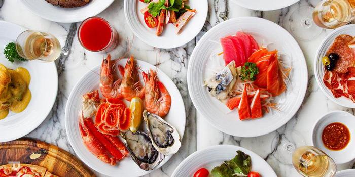 Selection of Food from Prime+ Urban Grill Restaurant & Bar at Floor7th, Compass SkyView Hotel 12 Sukhumvit 24 Klongton, Klongtoey Bangkok