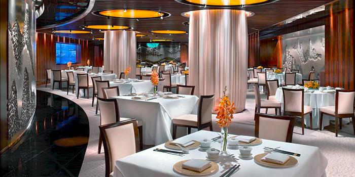 Interior of Feng Shui Inn at Resorts World Sentosa in Sentosa, Singapore
