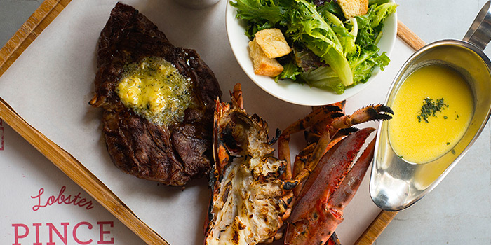 Surf Turf from Pince & Pints Restaurant and Bar in Duxton, Singapore