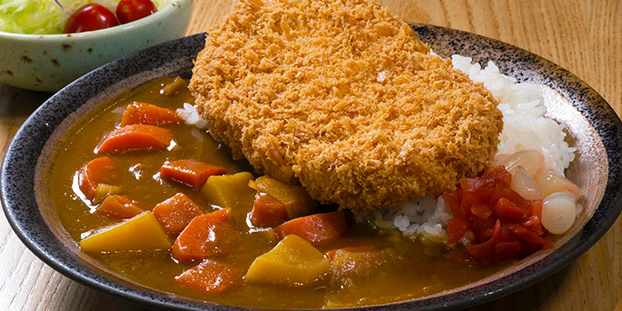 Katsu Curry from Tonkichi (Isetan Scotts) in Orchard, Singapore