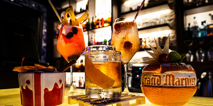 Signature Drinks, WTF Bar, Causeway Bar, Hong Kong
