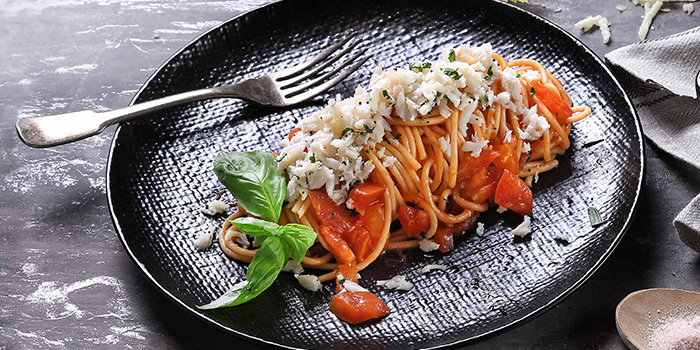 Spicy Crabmeat Pasta from The Communal Bistro Delicacy in Marina Bay, Singapore