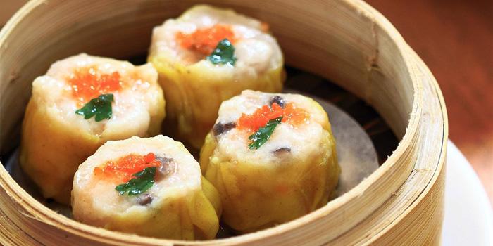 Steamed Chicken and Shrimp Dumpling at Table8, Hotel Mulia Jakarta