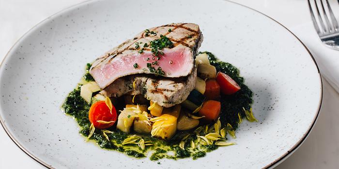 Tuna Steak, The Grill Room, Tsim Sha Tsui, Hong Kong