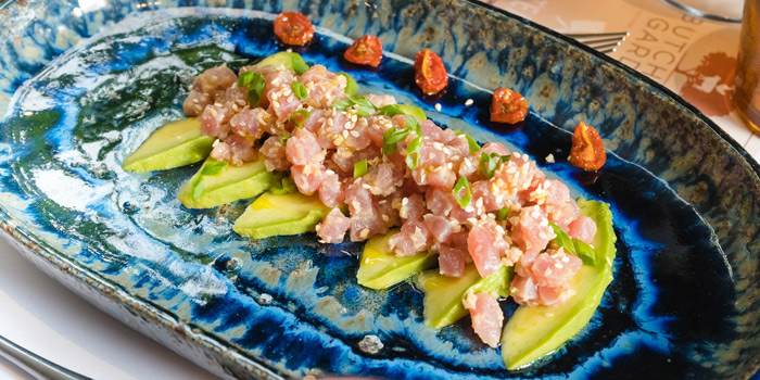 Tuna-Tartar,-Avocado,-Tomato from Butcher