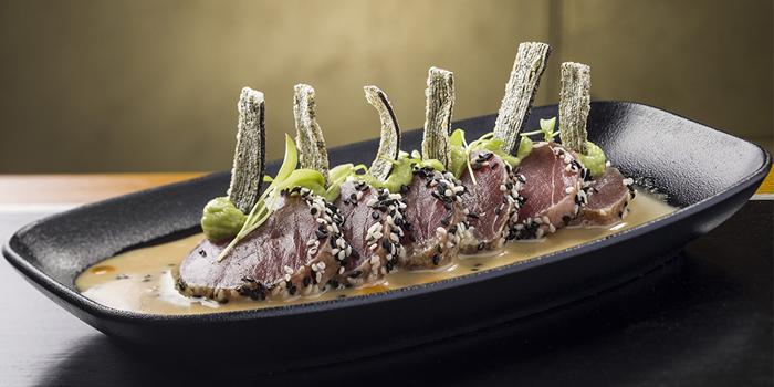 Yellowfin Tuna, Bread Street Kitchen & Bar, The Peak, Hong Kong