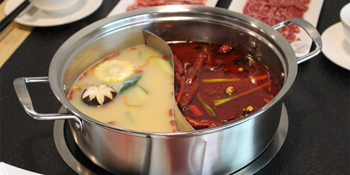 Yuen Yang Hot Pot from Chao Niu Hot Pot in East Coast, Singapore