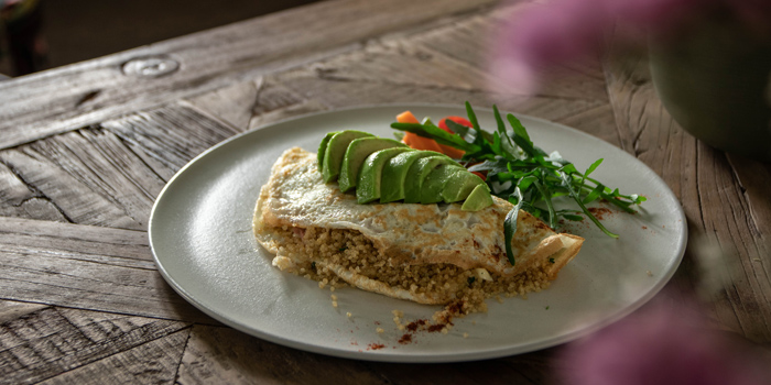 White Omelet Quinoa from Healthy Tasty Club at 38 Soi Silom3(pipat) Silom, Bangrak Bangkok