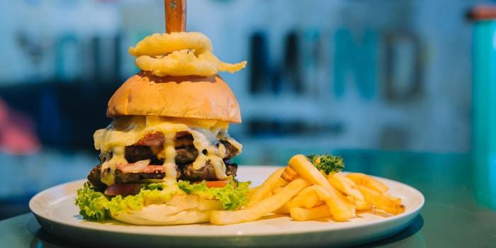 Burger 2 at The Barrel Pub & Grill