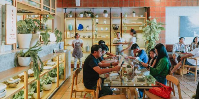 Interior from Musubi Modern Japanese Kitchen, Canggu, Bali