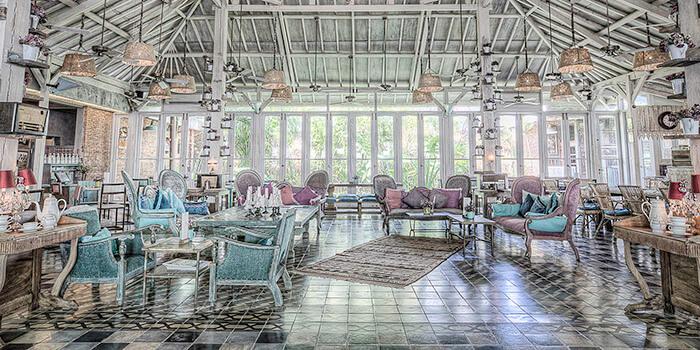 Interior at Balique, Jimbaran, Bali