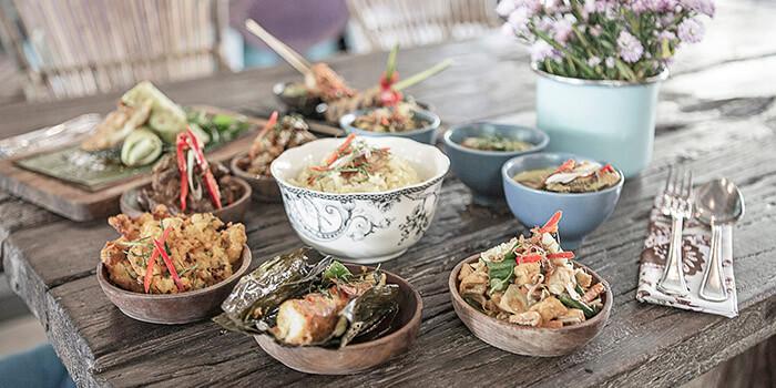 Nasi Campur at Balique in Jimbaran, Bali