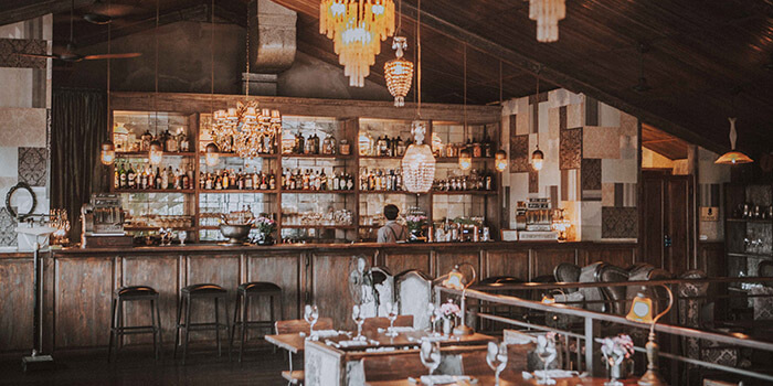 Interior from The Bistrot in Seminyak, Bali