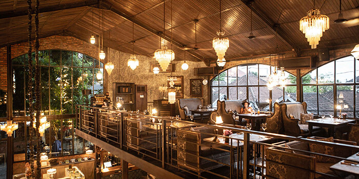 Interior from The Bistrot in Seminyak, Bali
