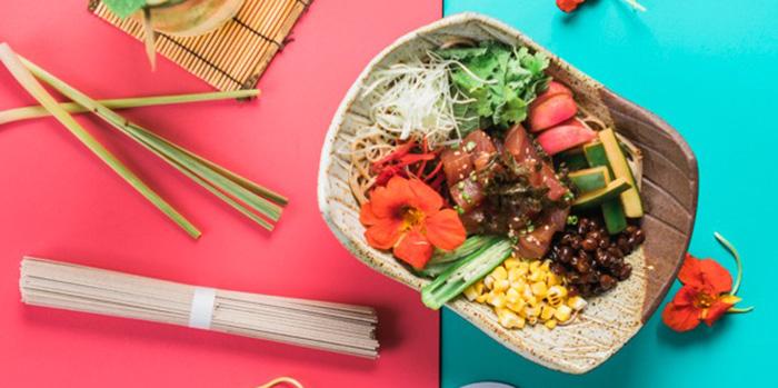 Food from Musubi Modern Japanese Kitchen, Canggu, Bali