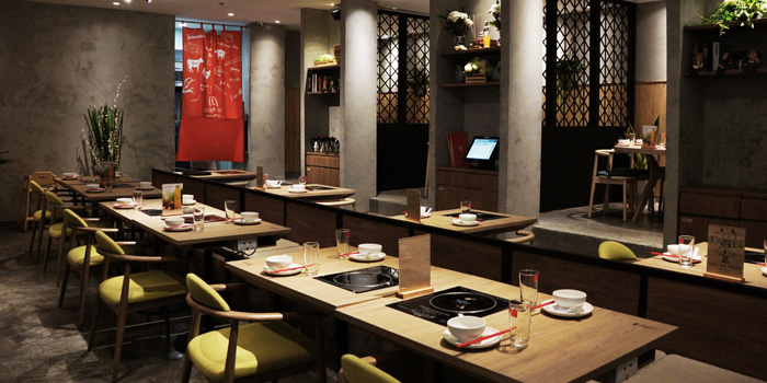 Ambience of Coca at Central World, 6 floor Ratchadamri, Patumwan Bangkok