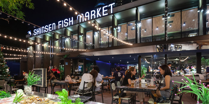 Ambience of Shinsen Fish Market at 163/6 Soi Sukhumvit 39 Klongton Nua, Wattana Bangkok