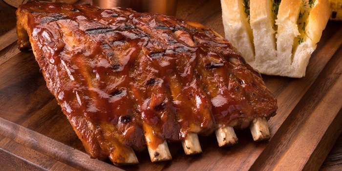 BBQ Pork Ribs from The Steakhouse & Co. at 9/8 Patpong Soi 2 Silom, Bang Rak Bangkok