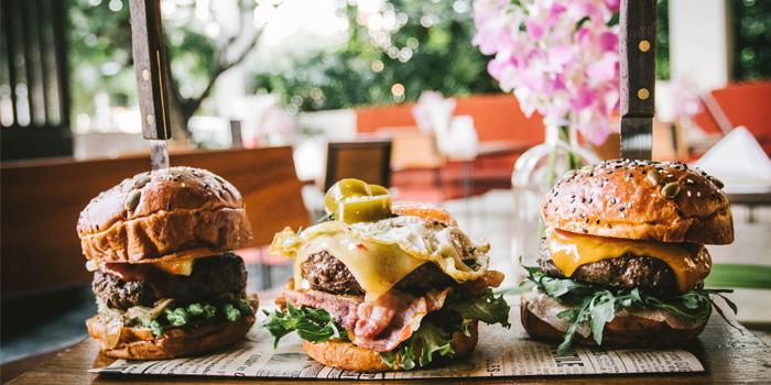 Burger from Rustic-Eatery & Bar in Patong, Kathu, Phuket, Thailand
