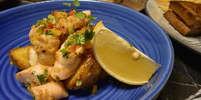 Chicken, Café Claudel, Central, Hong Kong