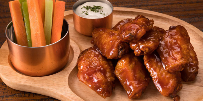 Chicken Wings from The Steakhouse & Co. at 9/8 Patpong Soi 2 Silom, Bang Rak Bangkok