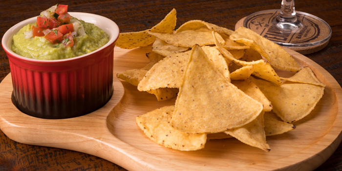 Chips & Guacamole from The Steakhouse & Co. at 9/8 Patpong Soi 2 Silom, Bang Rak Bangkok