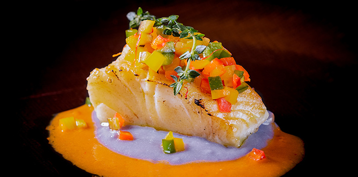 New Zealand Rockling Fish from Opus Bar & Grill in Hilton Hotel along Orchard Road, Singapore