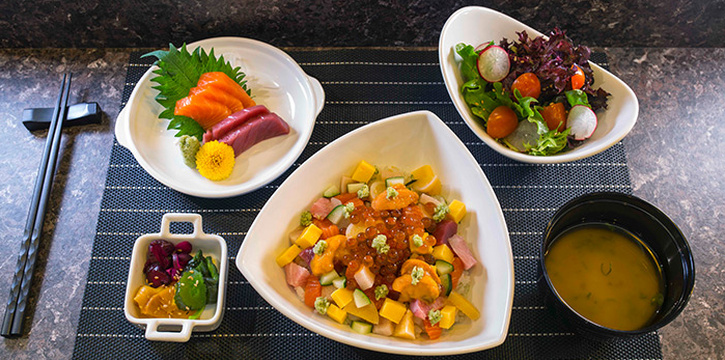 Chirashi Lunch Set from TORIO Japanese Restaurant at Link Hotel in Tiong Bahru, Singapore