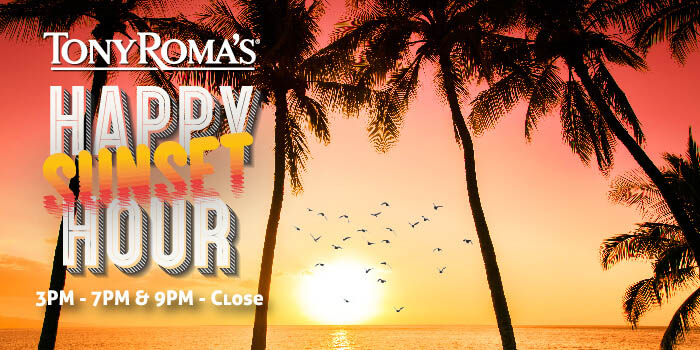 Happy Hour Promo at Tony Roma, Kuta, Bali