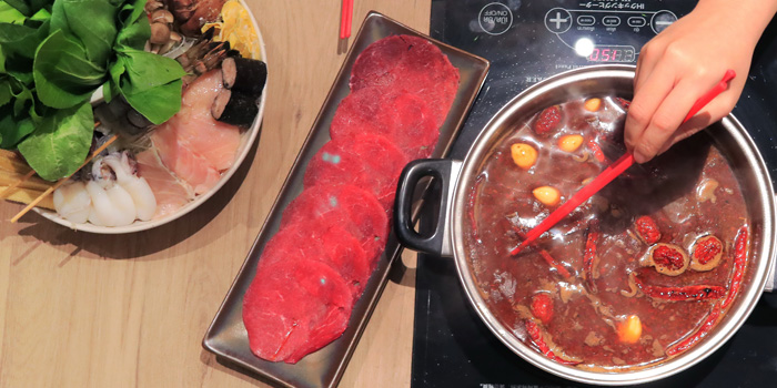 Hot Pot from Coca at Central World, 6 floor Ratchadamri, Patumwan Bangkok