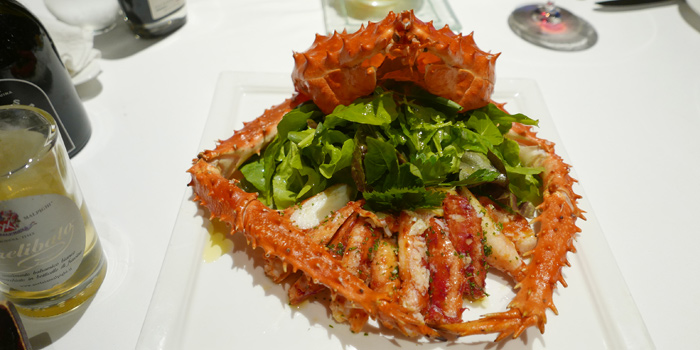 King Crab from Beccofino Italian Restaurant at 90 Soi Thong Lor Khlonton Nua, Wattana Bangkok