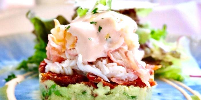 King Crab Salad from Al Dente at The Commons, Village Floor 55 Sukhumvit Rd, Soi Thonglor 17 Bangkok