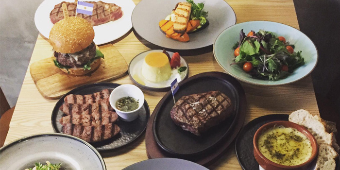 Dining at Patagonia, The Patagonia Argentinian Steak House, Sheung Wan, Hong Kong