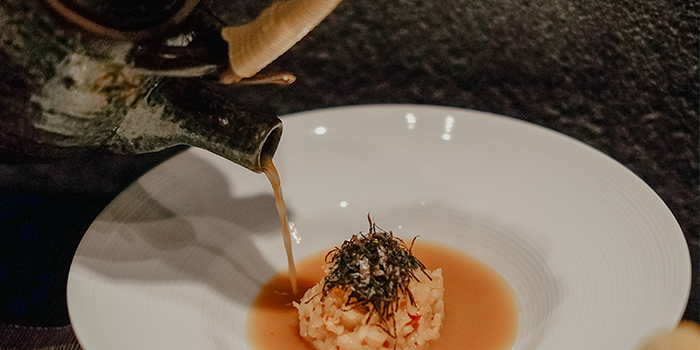 Lobster Risotto from RIZU Modern Japanese Cuisine in Duxton, Singapore