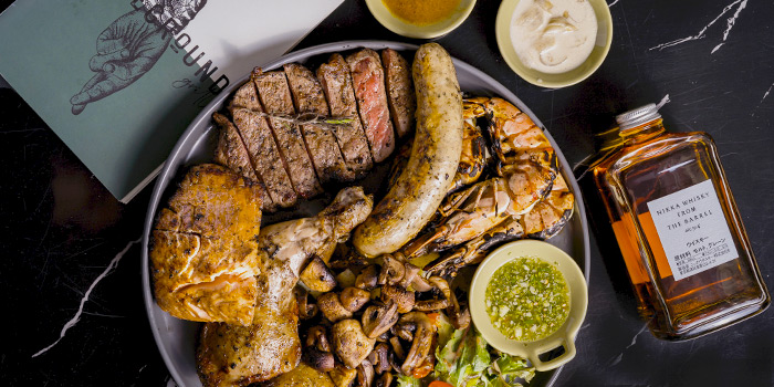 Mixed Platter from Homeground Grill & Bar in Lavender, Singapore