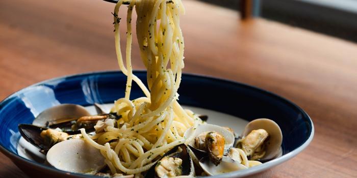 Spaghetti Seafood from Al Dente at The Commons, Village Floor 55 Sukhumvit Rd, Soi Thonglor 17 Bangkok