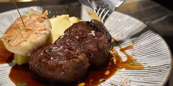 Steak, Café Claudel, Central, Hong Kong
