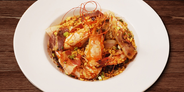 Steamed Prawn from Coca at Central World, 6 floor Ratchadamri, Patumwan Bangkok